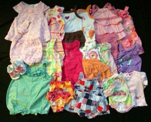 Baby Girl Clothes 6 9 Months