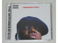 MUSIC CD ALBUM THE NOTORIOUS B.I.G GREATEST HITS 17 TRACKS JUICY NASTY BIG POPPA
