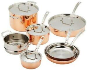 copper pots and pans - Copper Pots