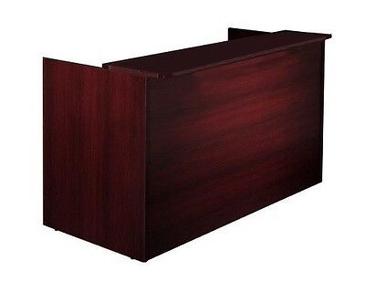 New Amber Receptionreceptionist Office Desk With Transaction Counter