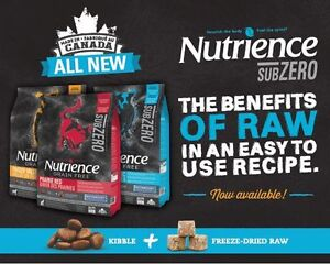 Nutrience SubZero Grain Free Dog Food with Nutriboost 10kg