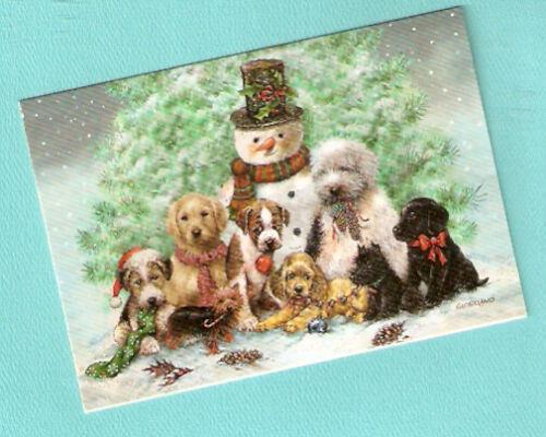 Scottish Yorkshire Terrier Labrador Cocker Spaniel Christmas Cards Box of 20*