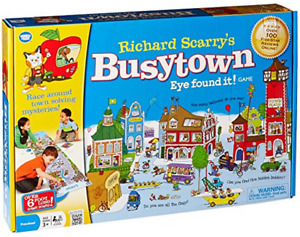 Busytown Mysteries Board Game