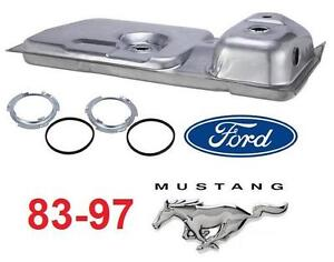 NEW* 83-97 FORD MUSTANG FUEL TANK Gas Tank Spectra Premium F12B - CAR AUTO PARTS 109537334