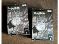 2 x LED Christmas Projection Lights, USED ONCE!