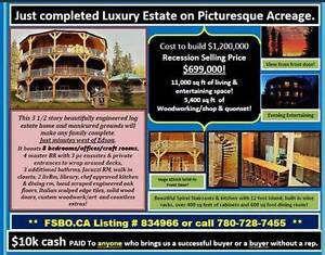MUST SEE! Quiet Luxury Estate for sale by owner on 6.2 acres