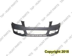 Bumper Front Primed Without S Line With Wahser CAPA Audi A4 2009-2012