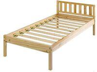 Single Bed Frame - Pine