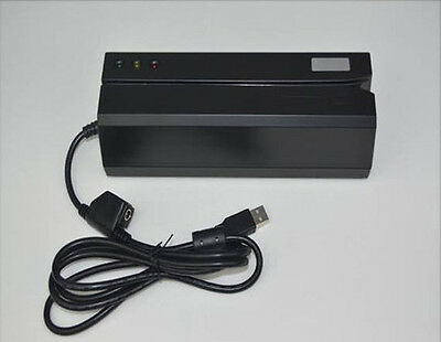 Msre206 Magnetic Card Reader Writer Encoder Comp 605606 For Lohi Co 3 Track