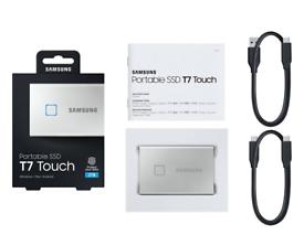 Samsung T7 Touch(Fingerprint) 2TB Portable External SSD