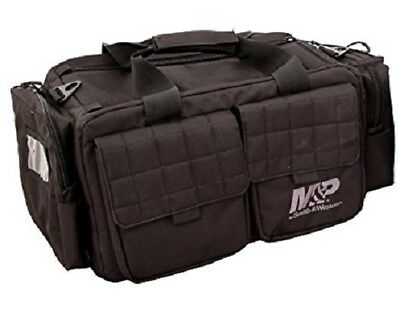 M&P Accessories Officer Tactical Range Bag BLACK Pistol Gear Gun Range Bag-