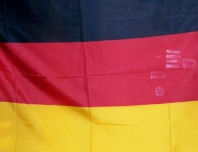 BANDIERA DELLA GERMANIA TEDESCA ECONOMICA MISURA 95x135 GERMANIAN FLAG GERMANY