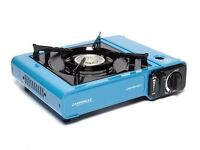 NEW camping Stove with 4 gas tubes