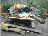 GARDEN/SHED/ OUT BUILDING RUBBISH - CLEARANCE/ REMOVAL from £20
