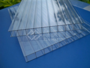 Twinwall Polycarbonate Panels 6&8mm with UV protection