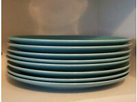 8x large and small plates for sale