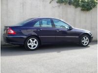 Purple Mercedes-Benz 2.0 2002 Diesel automatic, include private plate ( N2 HJS )