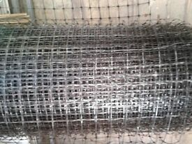 Roll of 6ft high plastic fencing mesh. Aprox 50m. Swap for paving flags