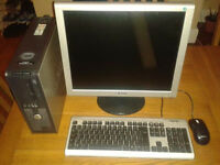 """Dell Computer, with 19"""" Monitor"""