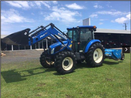 New Holland TD5.110 tractor package