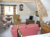 Studio flat to let in Bircher, Herefordshire for six months from end of September.
