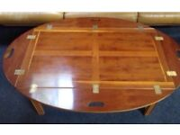 Large antique butlers / coffee table