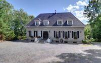 Renovated European Style Estate Stone House