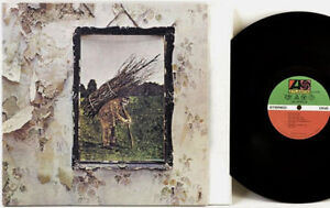 LED ZEPPELIN IV Vinyl Album...70s Pressing and Like New !!!