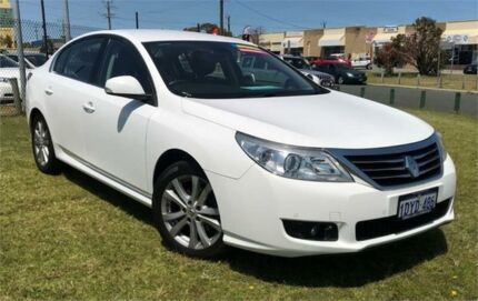 2013 Renault Latitude X43 2.5 V6 Luxe White 6 Speed Automatic Sedan Wangara Wanneroo Area Preview