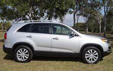 2011 Kia Sorento XM MY11 Platinum Clear Silver 6 Speed Sports Automatic Wagon Bundaberg West Bundaberg City Preview