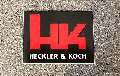 Heckler & Koch Sticker HK sticker