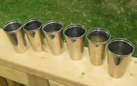 Six Thermos tumblers 1912