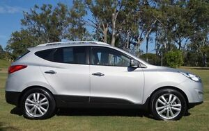 2012 Hyundai ix35 LM MY12 Highlander AWD Silver 6 Speed Sports Automatic Wagon Bundaberg Central Bundaberg City Preview