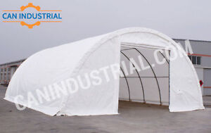 30x40x15 Portable Fabric Storage Building - SPRING SALE ON