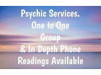 Psychic Clairvoyance Face to Face & Phone Spiritual Readings.