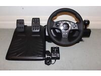 Logitech steering wheel