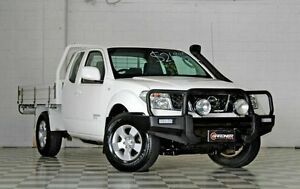 2011 Nissan Navara D40 ST-X White 6 Speed Manual Extracab Burleigh Heads Gold Coast South Preview