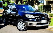 2005 Mitsubishi Outlander ZF LS Black 4 Speed Sports Automatic Wagon Medindie Walkerville Area Preview
