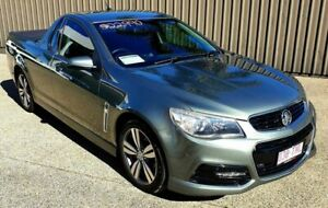 2013 Holden Commodore VF SV6 Prussian Steel 6 Speed Manual Utility Mackay Mackay City Preview