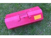 Vintage Metal Kennedy Tool Box Mechanic Storage Engineer