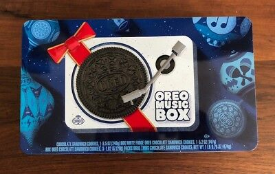 Holiday Tin Box (Oreo Music Box Cookie Record Player Collectible Holiday Gift Tin New Sold)