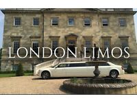 ☎️ 0800 043 5466 Limousine & Wedding Car Hire Service - Fully Licensed & Chauffeur Driven.