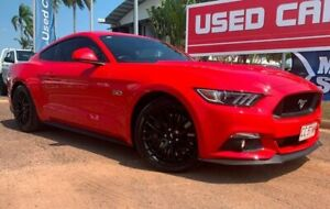 2016 Ford Mustang FM 2017MY GT Fastback Red 6 Speed Manual Fastback Berrimah Darwin City Preview