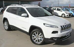 2014 Jeep Cherokee KL Limited White 9 Speed Sports Automatic Wagon Pearsall Wanneroo Area Preview