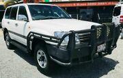 2005 Toyota Landcruiser UZJ100R Upgrade GXL (4x4) White 5 Speed Automatic Wagon Springwood Logan Area Preview
