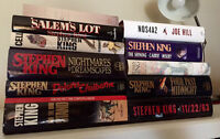 Stephen King - Hardcover books in ENGLISH
