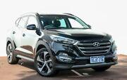 2017 Hyundai Tucson TLE2 MY18 Highlander D-CT AWD Black 7 Speed Sports Automatic Dual Clutch Wagon Maddington Gosnells Area Preview