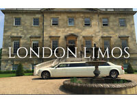 Call London Limos Today 07930670003 we are a 5* Rated Company Offering Limo Hire & Wedding Car Hire.