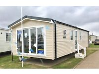 BRAND NEW STATIC CARAVAN BY THE SEA, GREAT YARMOUTH NORFOLK NOT ESSEX OR KENT, SITE FEES UNTIL 2019