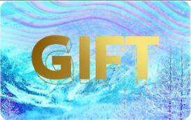 Selfridges & co gift card voucher